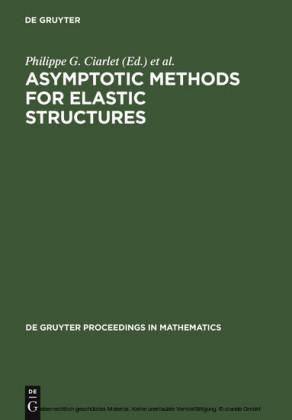 Asymptotic Methods for Elastic Structures