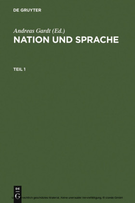 Nation und Sprache