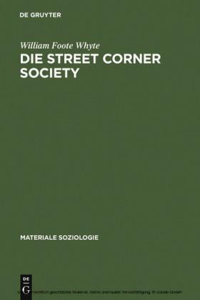 Die Street Corner Society
