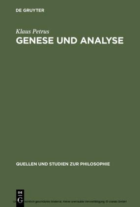 Genese und Analyse
