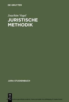 Juristische Methodik