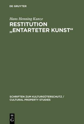Restitution 'Entarteter Kunst'