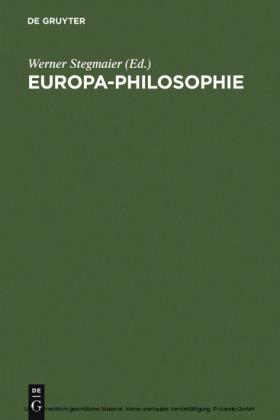 Europa-Philosophie