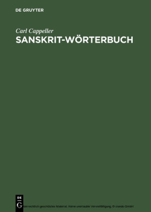 Sanskrit-Wörterbuch