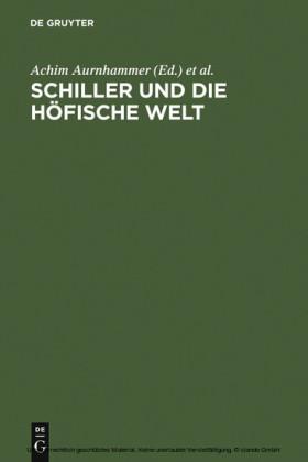 Schiller und die höfische Welt