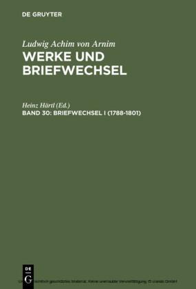 Briefwechsel I (1788-1801)