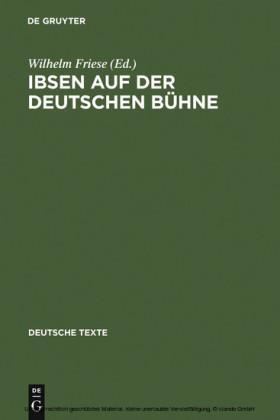 Ibsen auf der deutschen Bühne