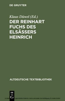 Der Reinhart Fuchs des Elsässers Heinrich