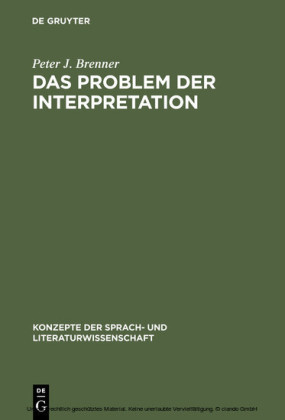 Das Problem der Interpretation