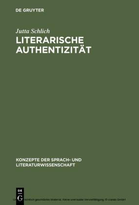Literarische Authentizität