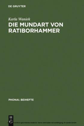 Die Mundart von Ratiborhammer