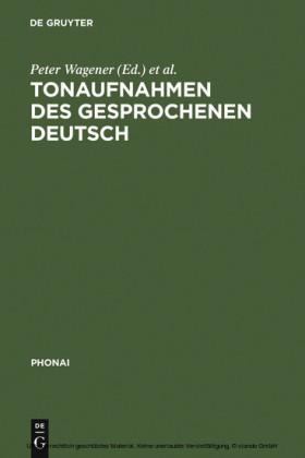 Tonaufnahmen des gesprochenen Deutsch