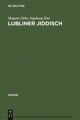Lubliner Jiddisch