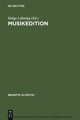 Musikedition