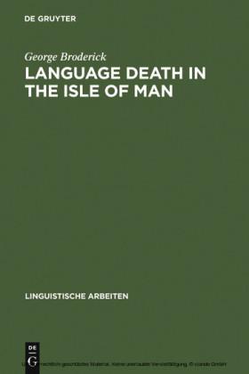 Language Death in the Isle of Man