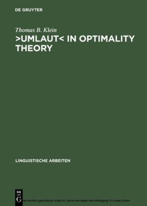 ?Umlaut? in Optimality Theory