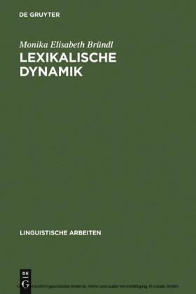 Lexikalische Dynamik