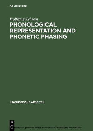 Phonological Representation and Phonetic Phasing