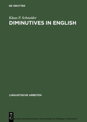 Diminutives in English