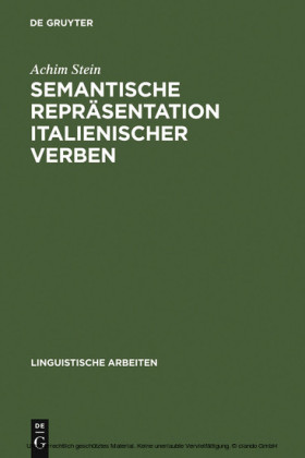 Semantische Repräsentation italienischer Verben