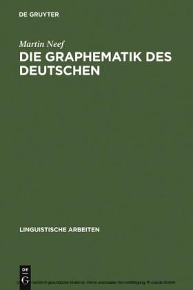 Die Graphematik des Deutschen
