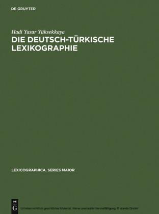 Die deutsch-türkische Lexikographie