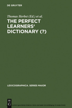 The Perfect Learners' Dictionary (?)