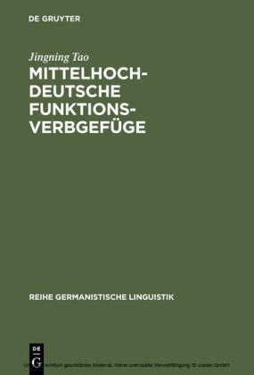Mittelhochdeutsche Funktionsverbgefüge