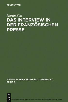 Das Interview in der französischen Presse