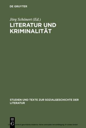 Literatur und Kriminalität