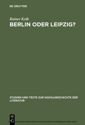 Berlin oder Leipzig?
