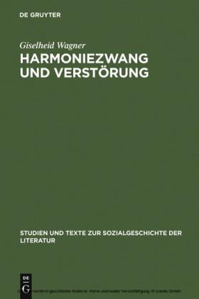 Harmoniezwang und Verstörung
