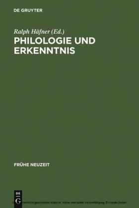 Philologie und Erkenntnis