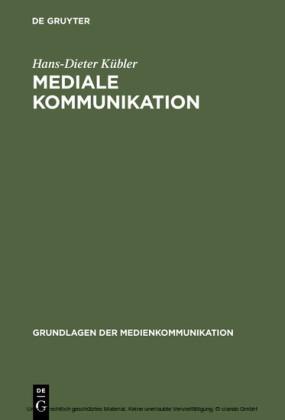 Mediale Kommunikation