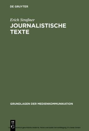 Journalistische Texte