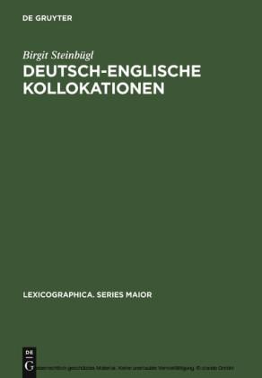 Deutsch-englische Kollokationen