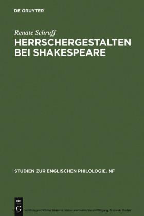 Herrschergestalten bei Shakespeare
