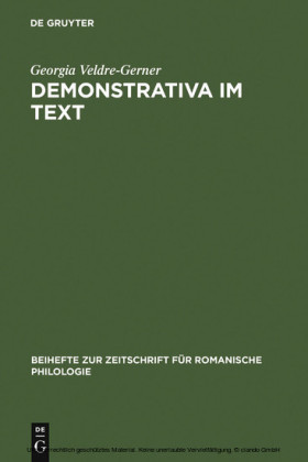 Demonstrativa im Text