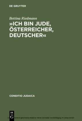 """""""Ich bin Jude, Österreicher, Deutscher"""""""