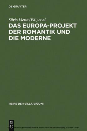 Das Europa-Projekt der Romantik und die Moderne