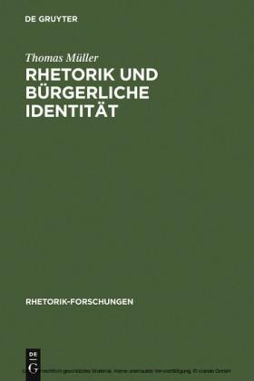 Rhetorik und bürgerliche Identität