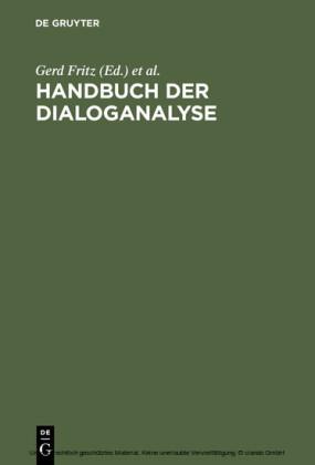 Handbuch der Dialoganalyse