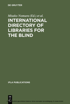 International Directory of Libraries for the Blind