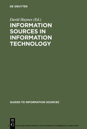 Information Sources in Information Technology