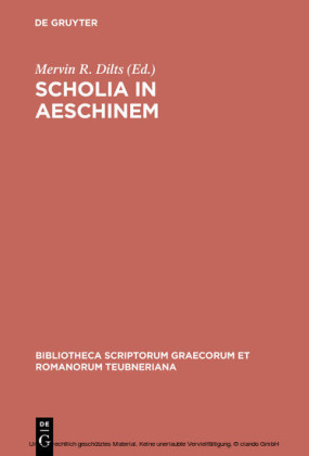 Scholia in Aeschinem
