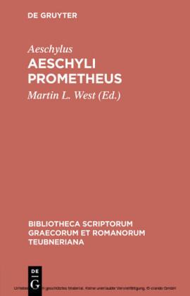 Aeschyli Prometheus