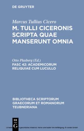 Academicorum reliquiae cum Lucullo