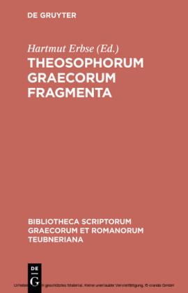 Theosophorum Graecorum fragmenta