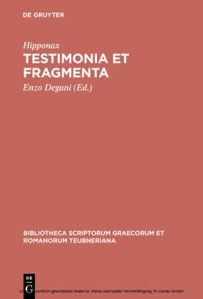 Testimonia et fragmenta