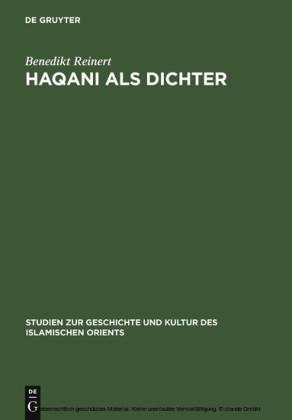 Haqani als Dichter